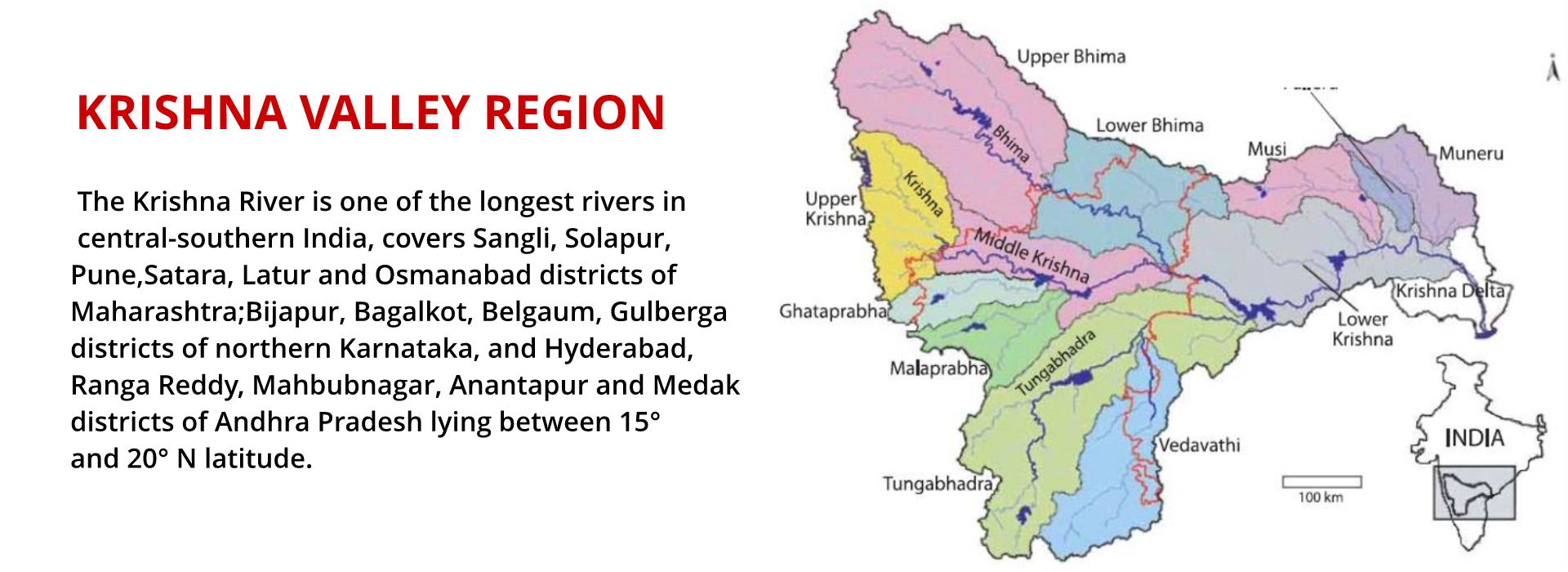 Krishna Valley Region